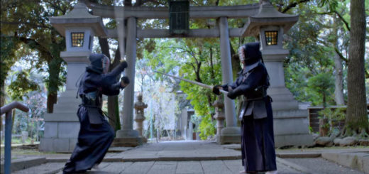 el dragon combate kendo japon